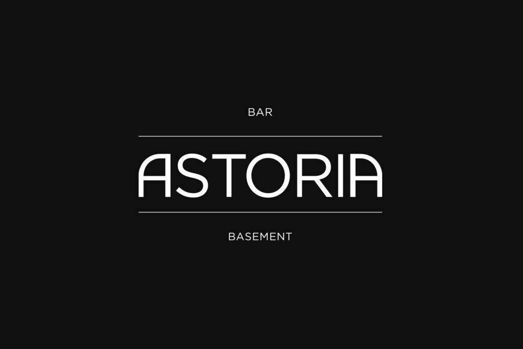Astoria logo - Design by Saglietti